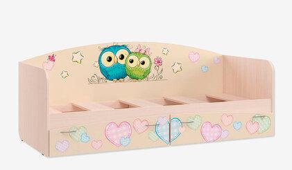 Кровать для детской КР-1 Совы