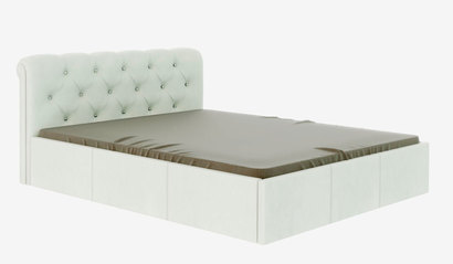 Кровать Калипсо. Белая