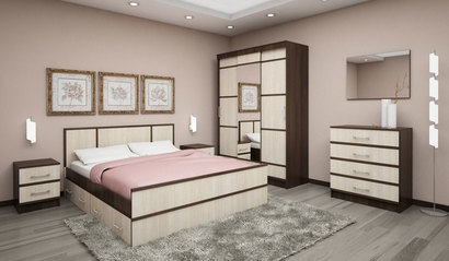 Спальня Сакура. Комплект 2