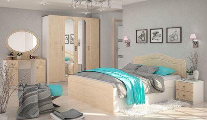 Спальня Эльза. Комплект 1. Перламутр