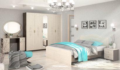 Спальня Эльза. Комплект 1. Венге