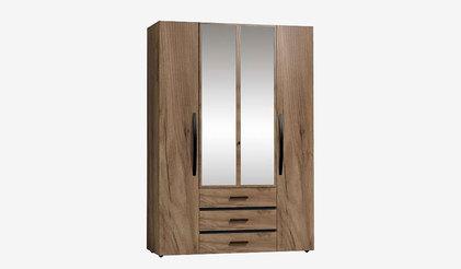 Шкаф для одежды и белья NATURE 555