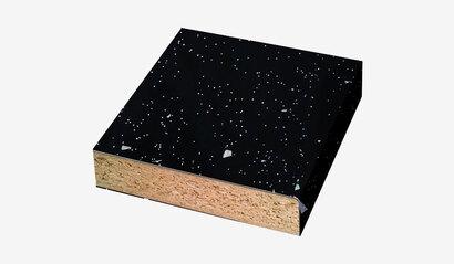 Столешница Ледяная искра темная глянец №56