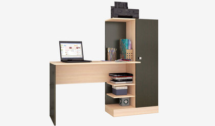 Компьютерный стол Квартет-6. Венге