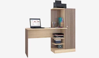 Компьютерный стол Квартет-6. Ясень