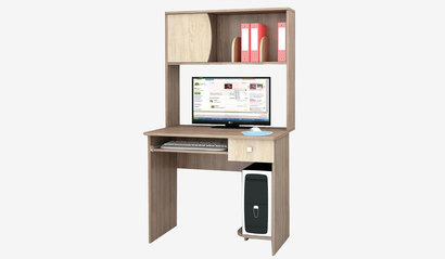 Компьютерный стол Грета-4. Ясень