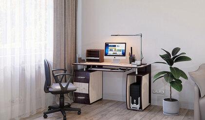 Стол компьютерный Лотта 7. Венге