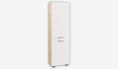 Шкаф Асти АШК 600.1. Белый глянец