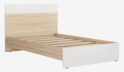 Кровать односпальная Кр-44 (1200х2000) Лайт