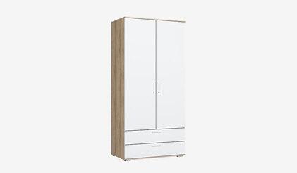 Шкаф для одежды ШР-2/1 с ящиками Лайт