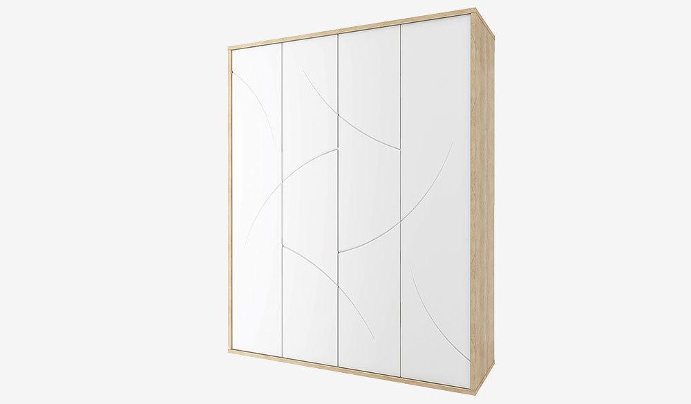 Шкаф 4-х дверный Мадейра