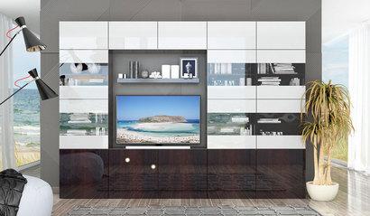 Модульная гостиная Прато комплект 2
