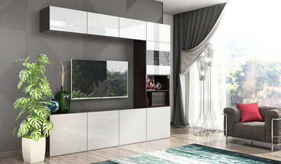 Модульная гостиная Прато комплект 3
