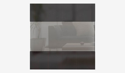 Фасад со стеклом (для высокого каркаса) Прато СТЛ.320.04М Дуб феррара глянец