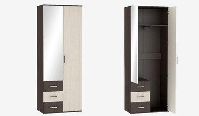 Шкаф двухстворчатый ШК-802 Венге. Рошель