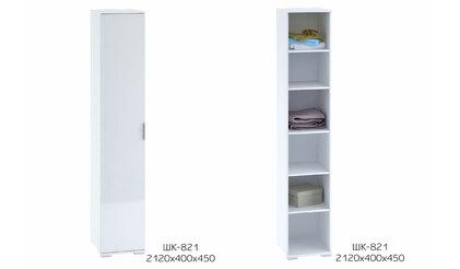 Шкаф одностворчатый ШК-821. Терра