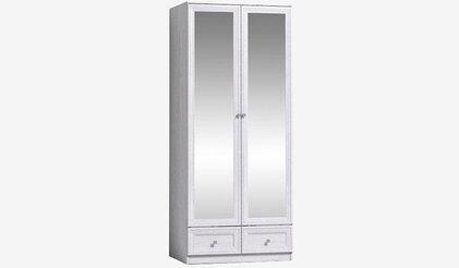 Шкаф для одежды и белья Зеркало Paola 73