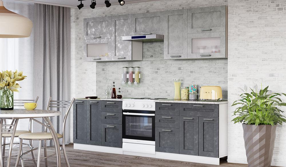 Кухня лофт бетон почему бетона